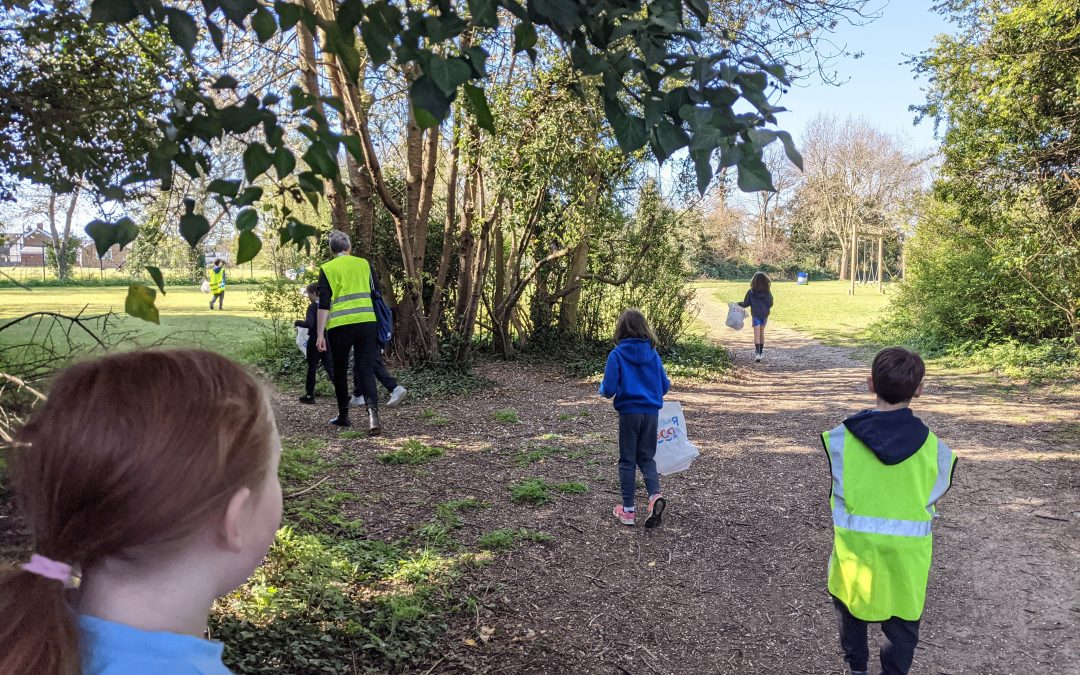 Juniors Local Litter Pick and Road Safety walk